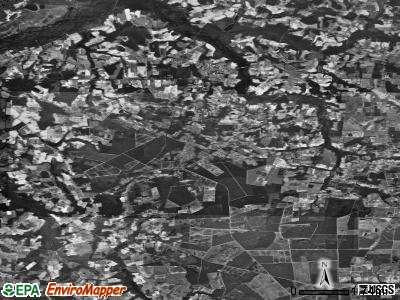 Zip code 28430 satellite photo by USGS