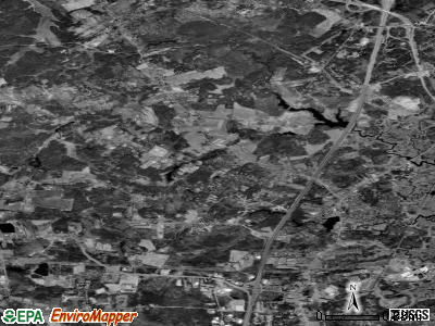 Zip code 03844 satellite photo by USGS