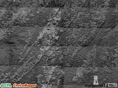 Zip code 30728 satellite photo by USGS