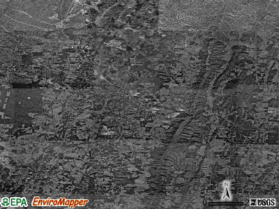 Zip code 30736 satellite photo by USGS