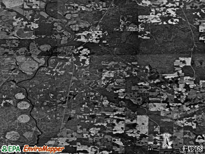 Zip code 31772 satellite photo by USGS