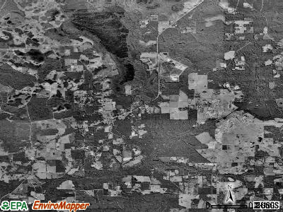 Zip code 32072 satellite photo by USGS