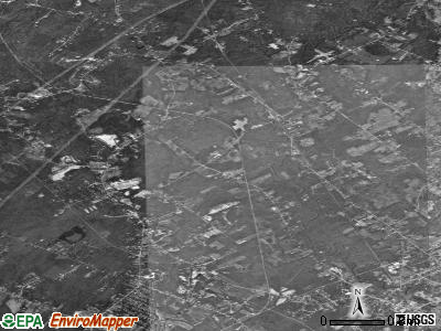 Zip code 04103 satellite photo by USGS