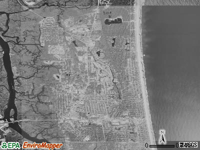 Zip code 32233 satellite photo by USGS