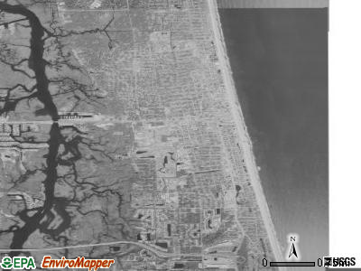 Zip code 32250 satellite photo by USGS