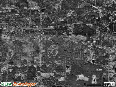Zip code 32301 satellite photo by USGS