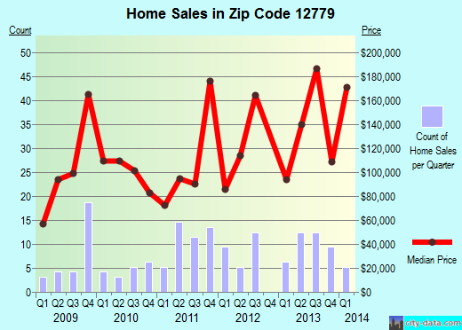 Zip code 12779 (South Fallsburg, New York) real estate house value trends