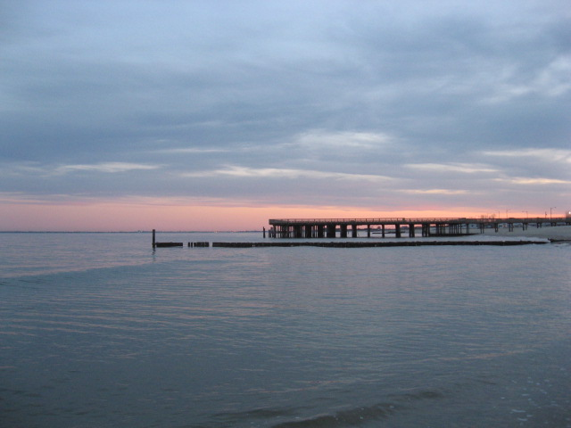 Hampton Va Buckroe Beach In The Early Evening