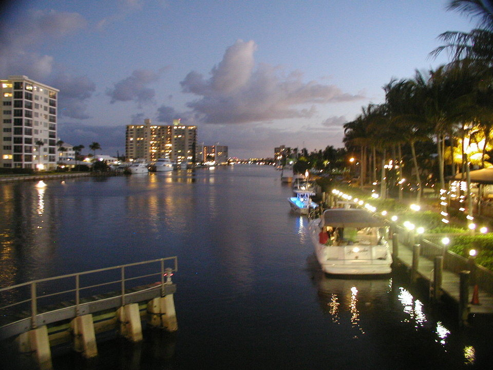South Palm Beach Fl Atlantic Avenue Bridge View Delray Florida 3