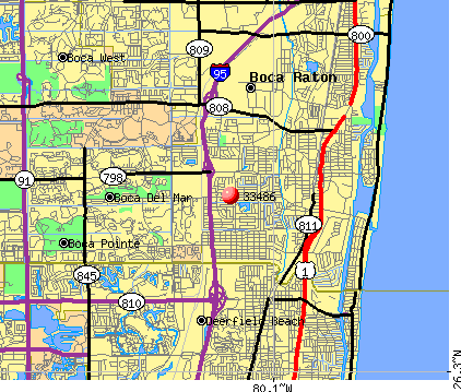 Boca Raton Zip Code Map 33486 Zip Code (Boca Raton, Florida) Profile   homes, apartments