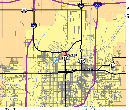 Sioux Falls Sd Zip Code Map 57104 Zip Code (Sioux Falls, South Dakota) Profile   homes