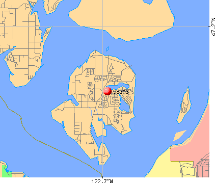 Anderson Island Map 98303 Zip Code (Anderson Island, Washington) Profile   homes