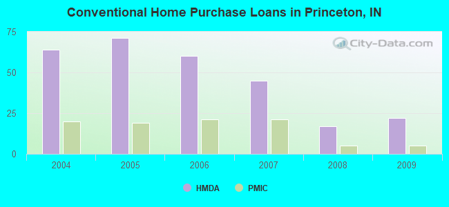 Conventional Home Purchase Loans in Princeton, IN