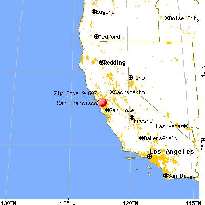Oakland California Map 94607 Zip Code (Oakland, California) Profile   homes, apartments  Oakland California Map