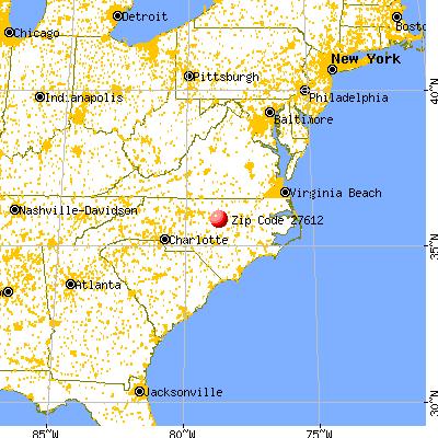 27612 Zip Code (Raleigh, North Carolina) Profile - homes ...